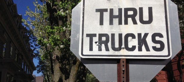 No Thru Trucks
