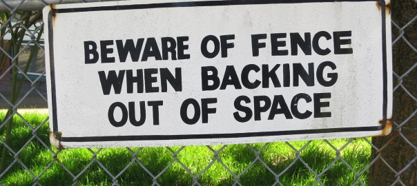Beware of Fence