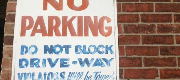 Do Not Block Drive-Way