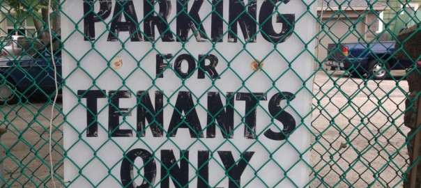 Parking for Tenants