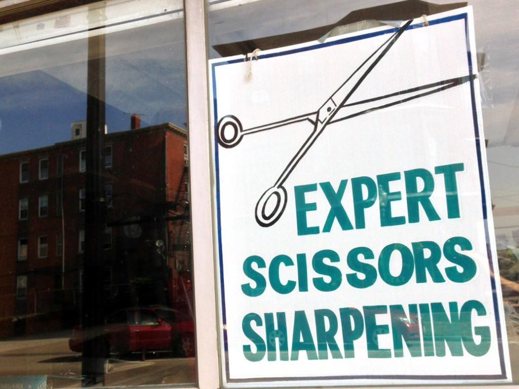"""EXPERT SCISSORS SHARPENING"""