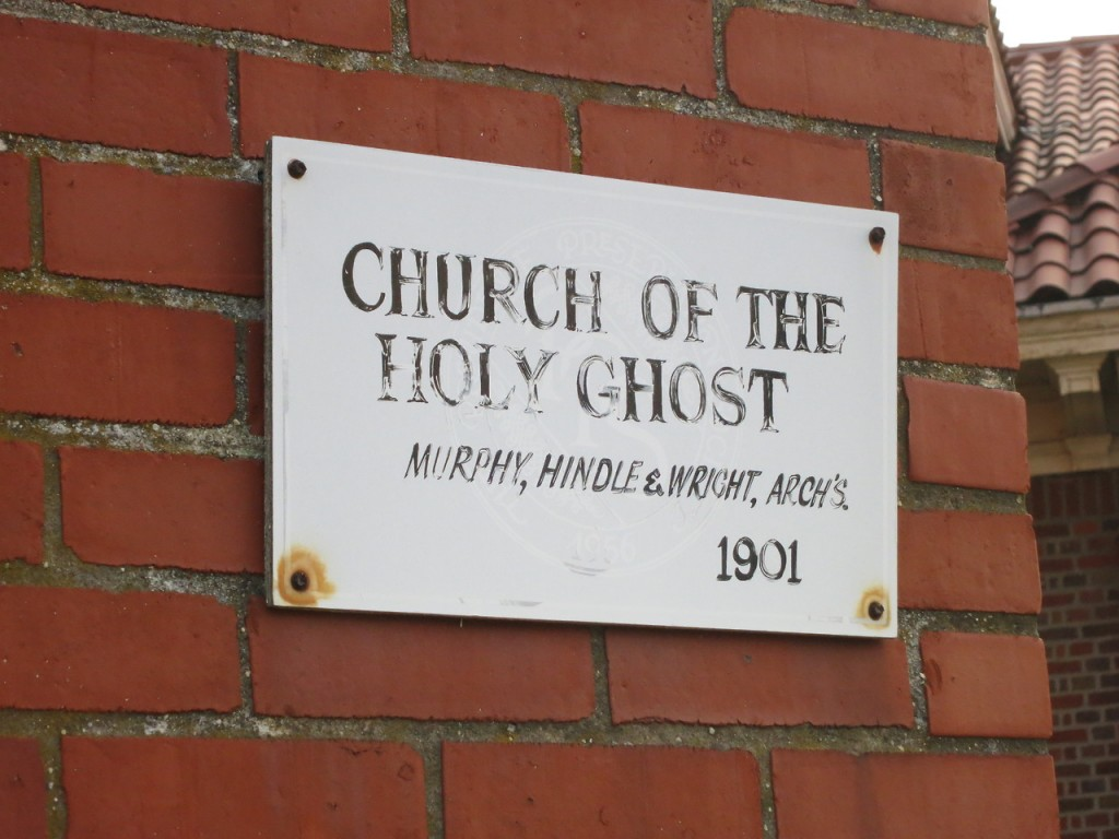"""""""CHURCH OF THE HOLY GHOST MURPHY, HINDLE & WRIGHT, ARCH'S 1901"""""""