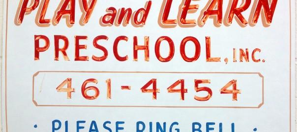 Play and Learn Preschool