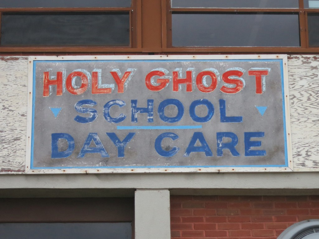 """DAY CARE"" At the Holy Ghost School."