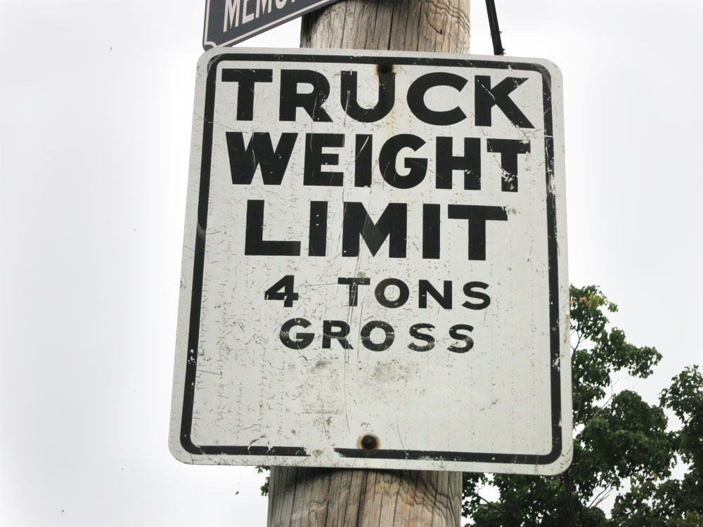 Truck Weight Limit
