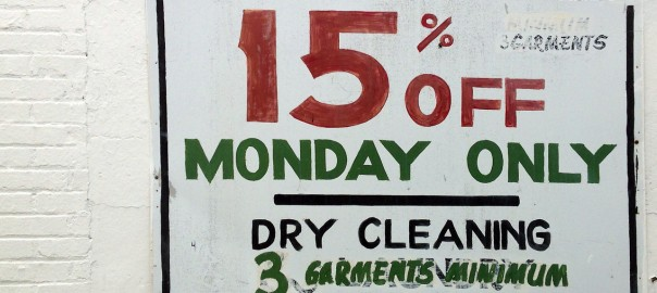 15% Off Monday Only