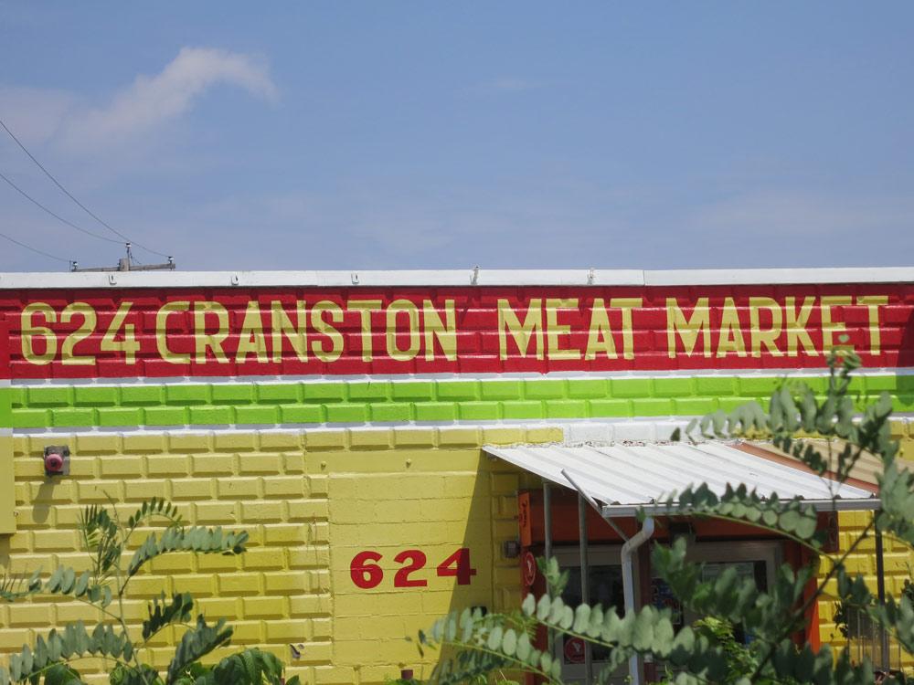 """624 CRANSTON MEAT MARKET"""