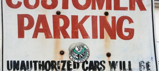 Customer Parking Unauthorized Cars