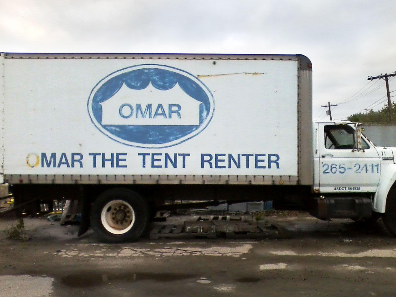 Omar the Tent Renter
