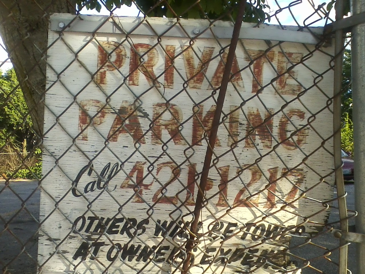 Private Parking Call