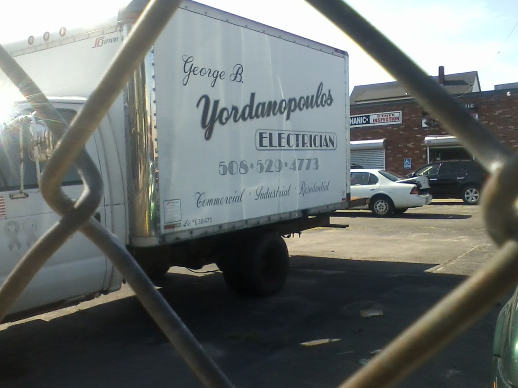 """George B. Yordanopoulos ELECTRICIAN"""