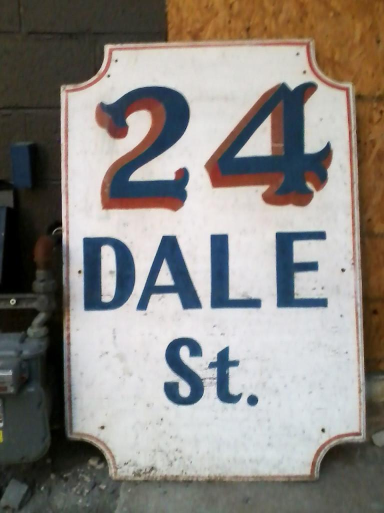 """""""24 DALE St."""""""