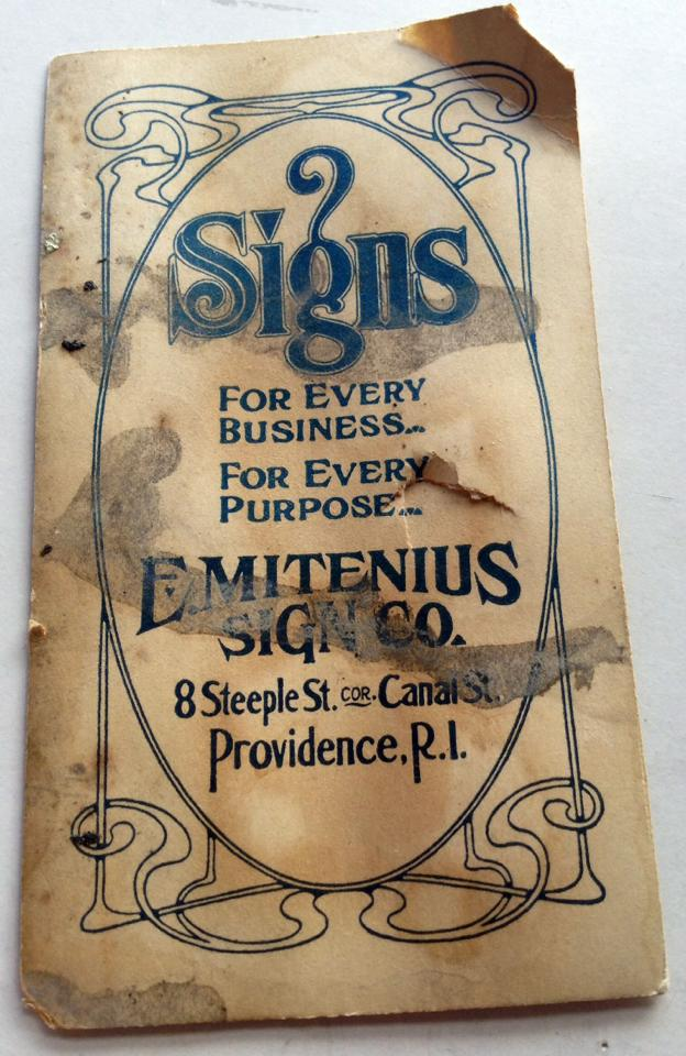 Emitenius Sign Co.