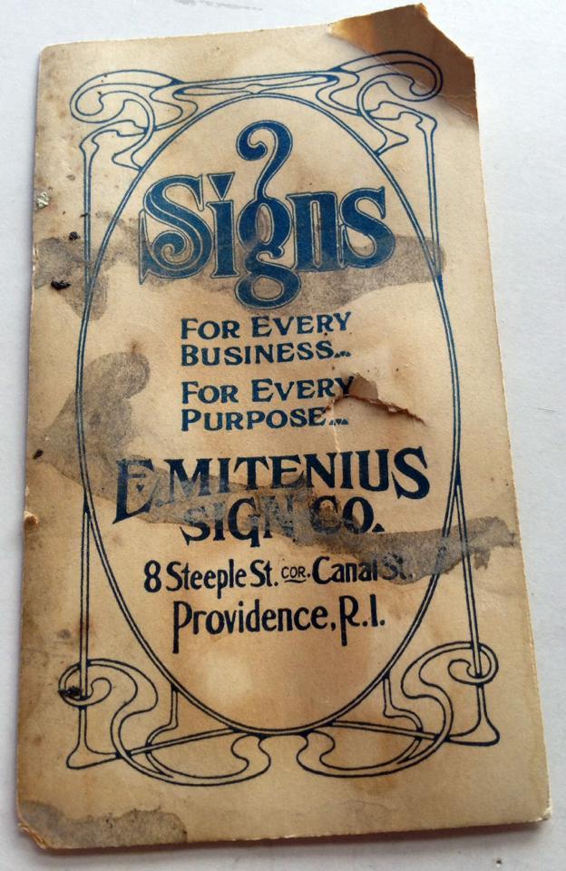E. Mitenius Sign Co.