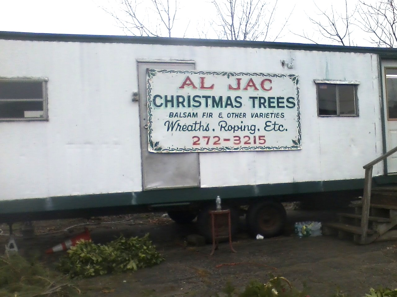 Al Jac Christmas Trees Trailer