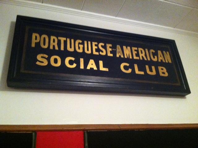 """PORTUGUESE-AMERICAN SOCIAL CLUB"""