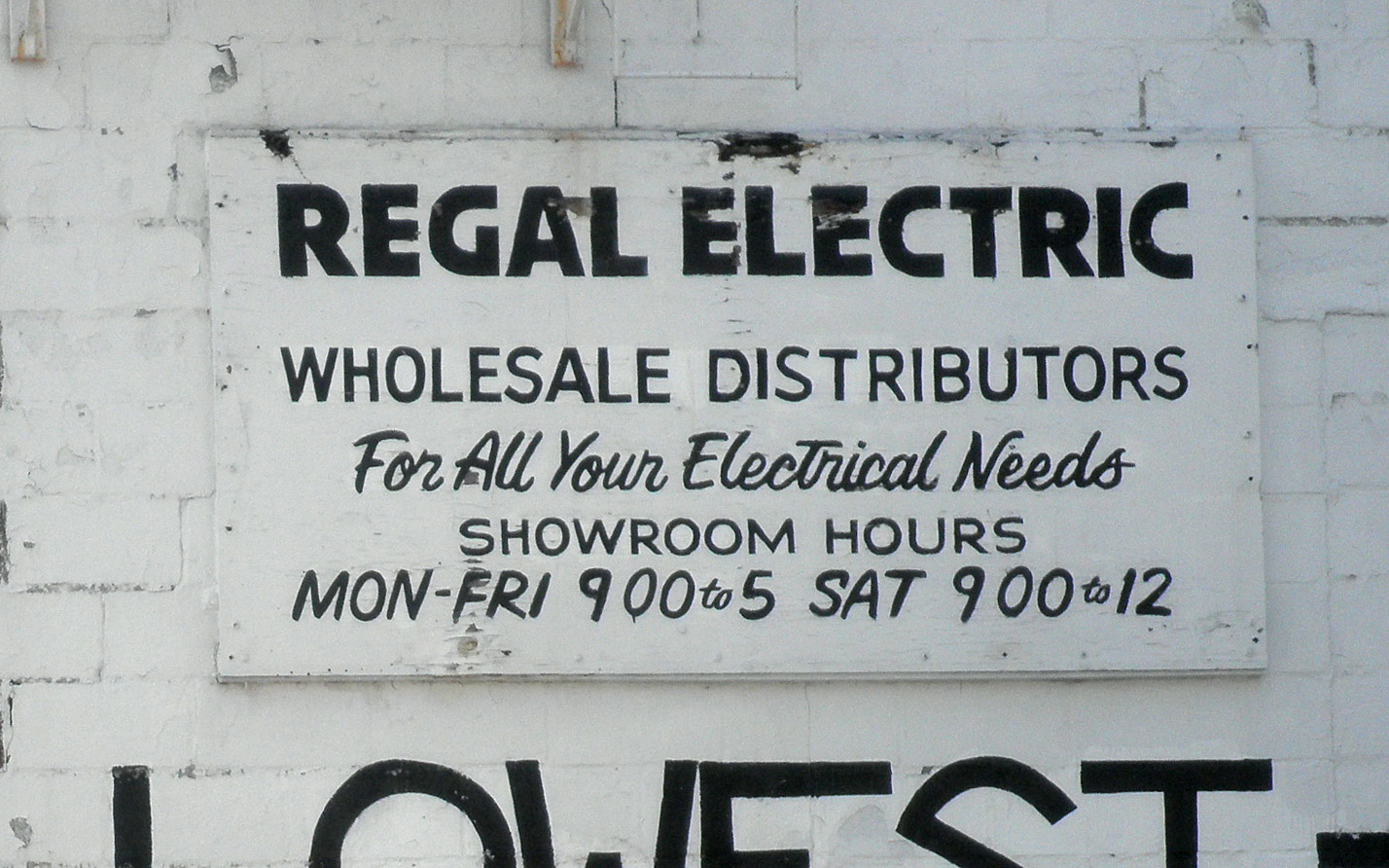 Regal Electric Wholesale Distributors