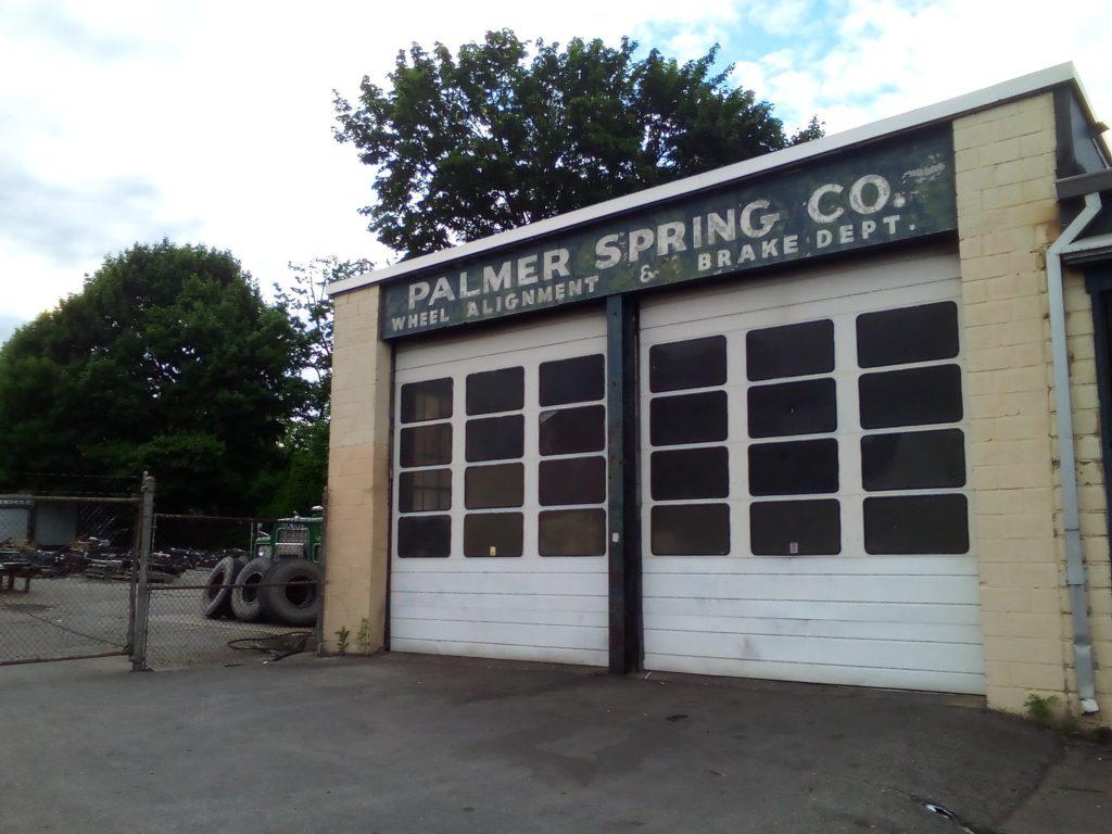 Palmer Spring Co. sign