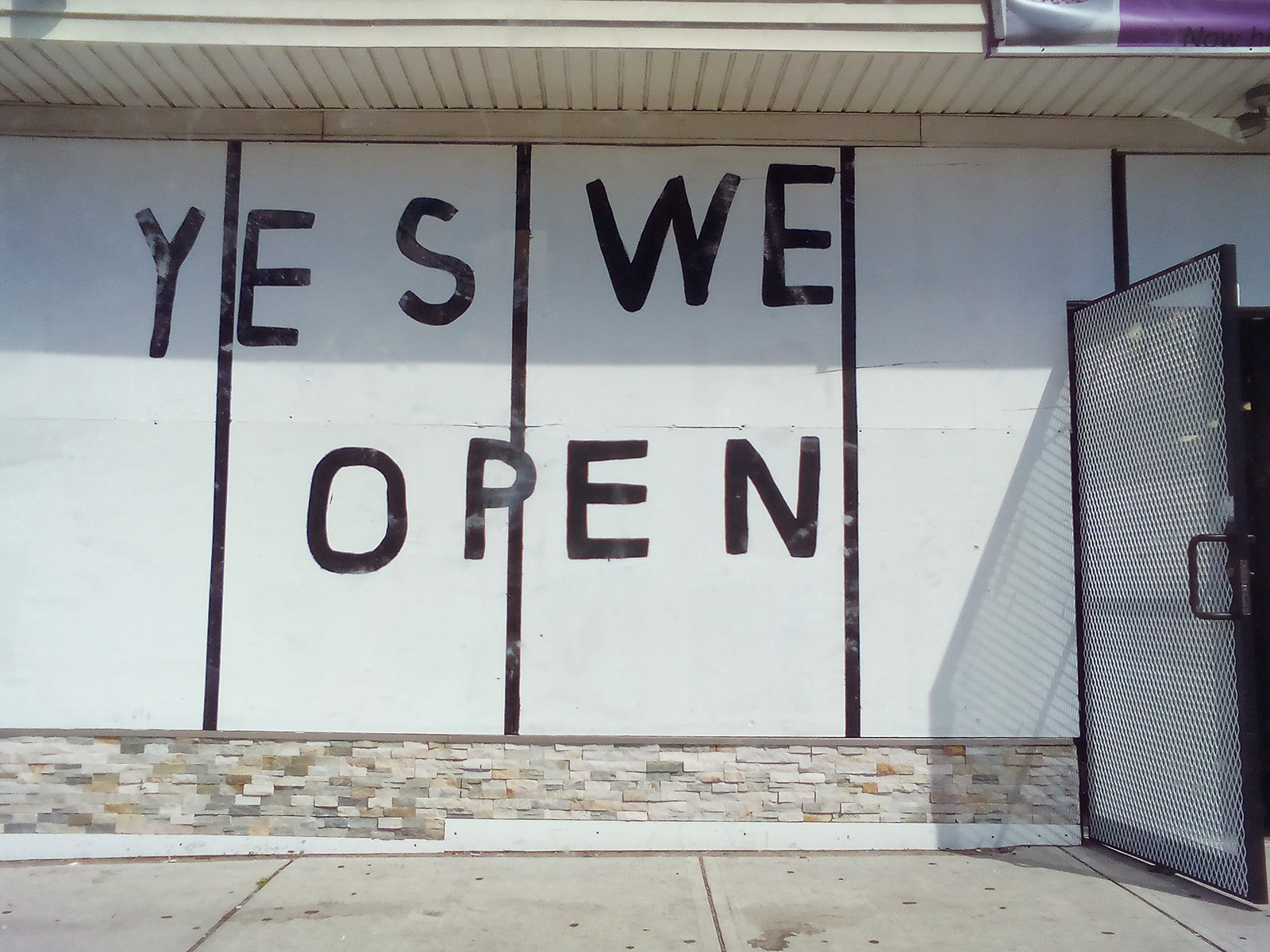 Yes We Open