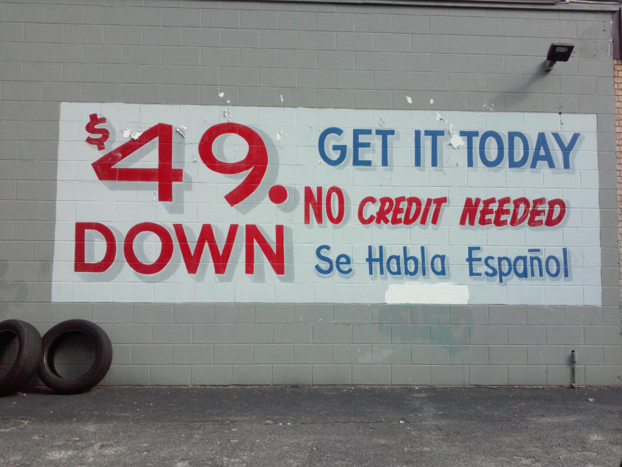 $49. Down
