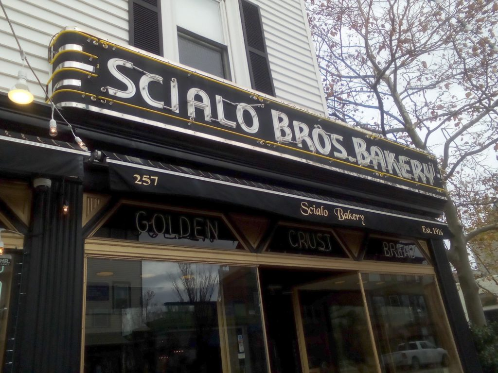 Scialo Brothers Bakery sign